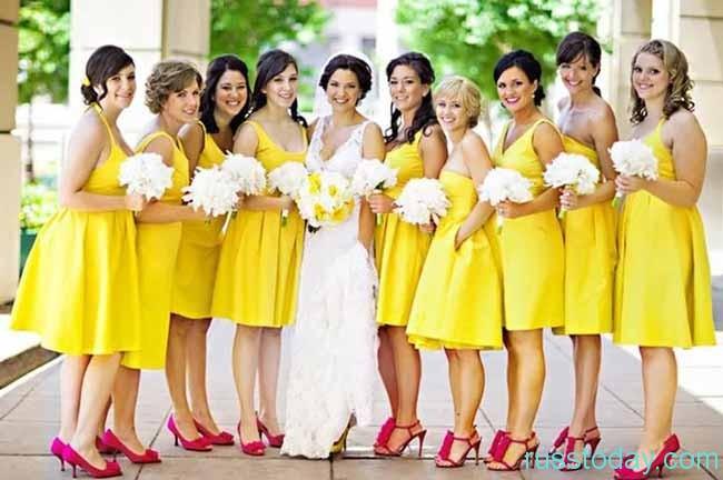 дружки с невестой