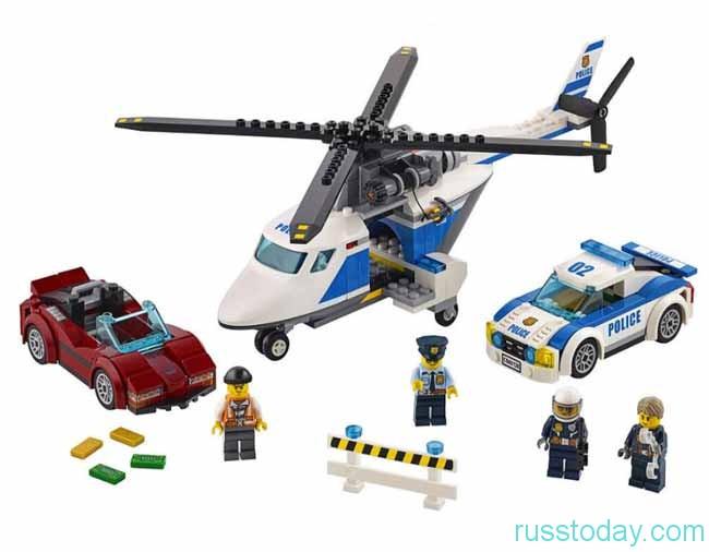 лего-полицейский