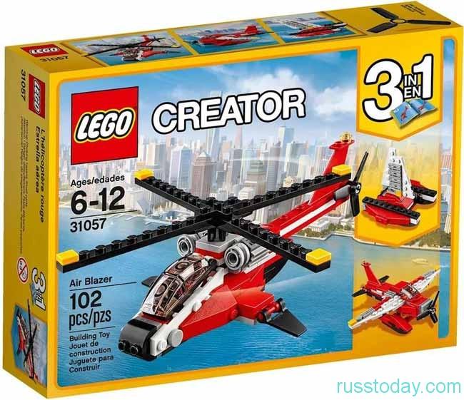 лего для 6-12 лет