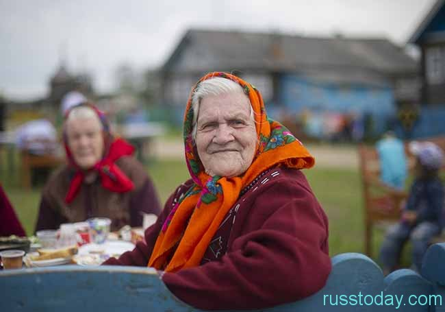 бодрая бабуля