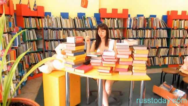 библиотекарь на работе