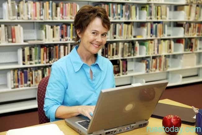 приветливый библиотекарь