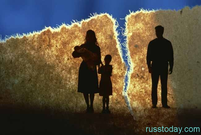 семья разрушилась