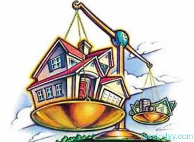 на весах дом и доллары