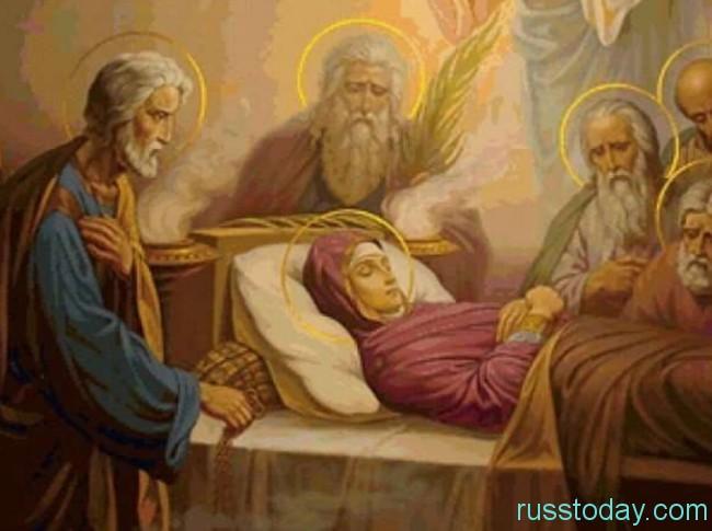 празднование Успения Богородицы,
