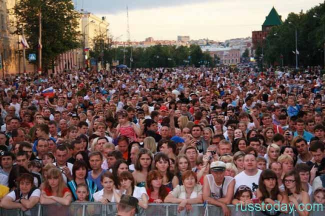 Население Нижнего Новгорода