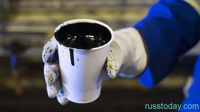 стакан нефти