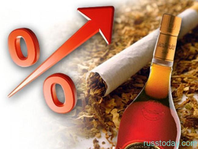 Пошлины на спиртные и табачные изделия