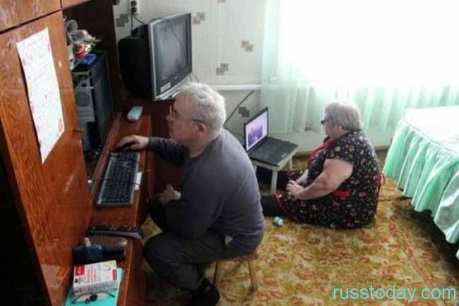 продвинутые пенсионеры