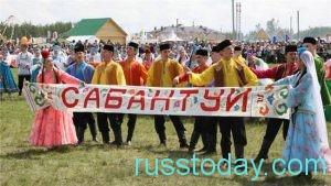 Сабантуй – это день окончания работ