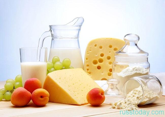 вывоз молочных продуктов