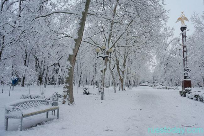 теплый февраль