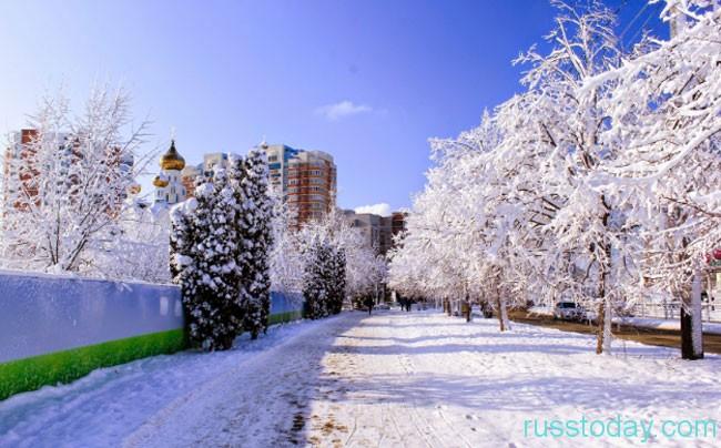 Краснодар - это замечательная южная территория