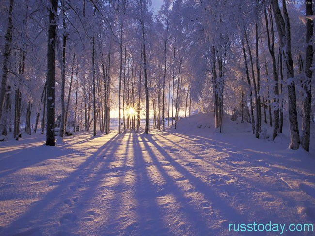 Зима является прекраснейшим и красивым временем года