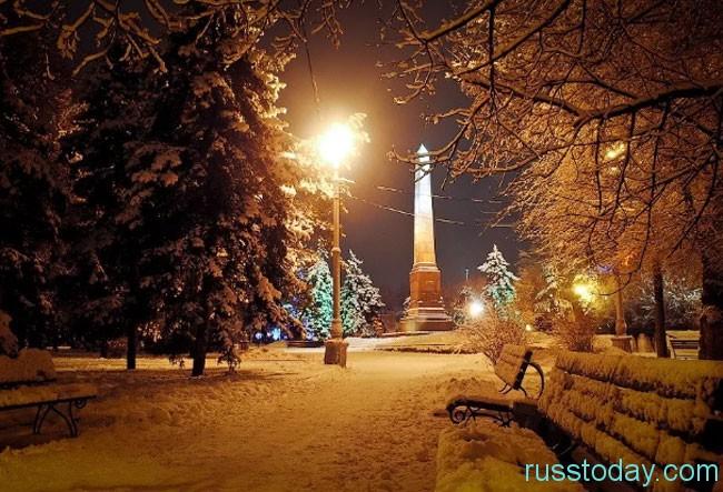 Волгоград зимой