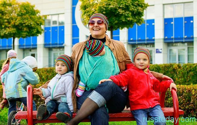 мама и детки
