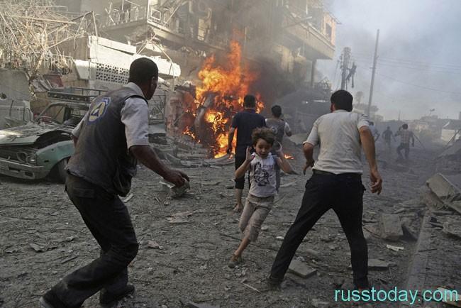 Текущая обстановка в Сирии