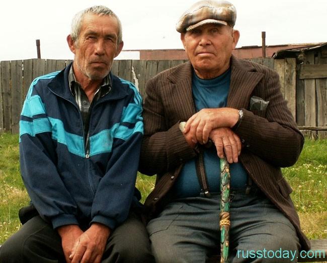 сельские мужики