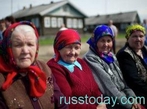 сельские бабушки
