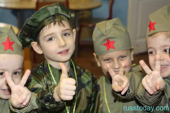 маленькие солдатики