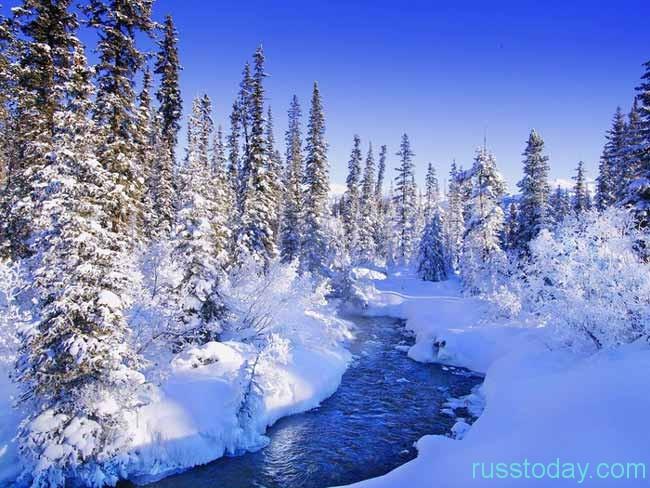 Зима - это прекраснейшая пора.