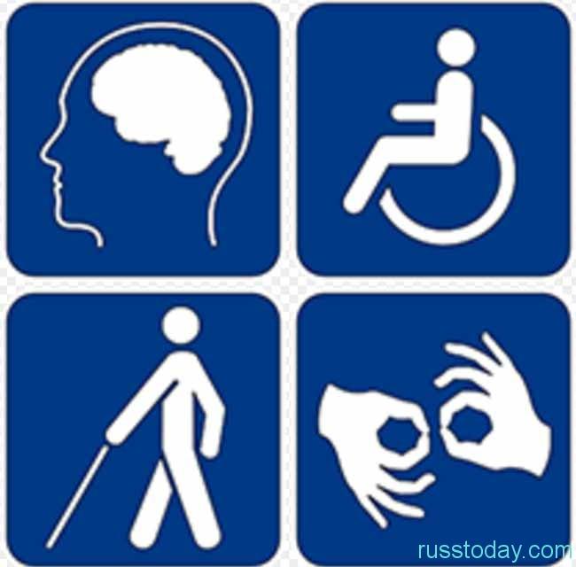 знаки  инвалидов