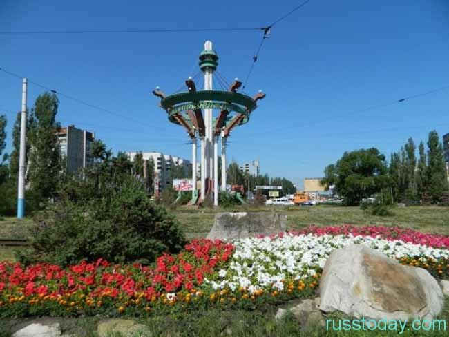 летняя пора в Воронеже
