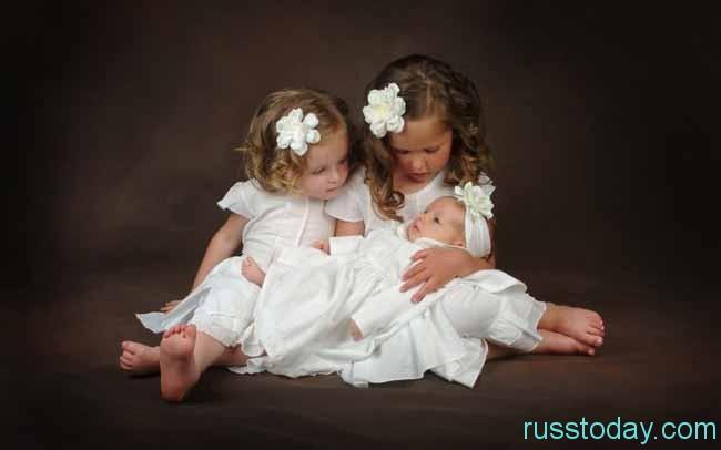 маленькие красавицы
