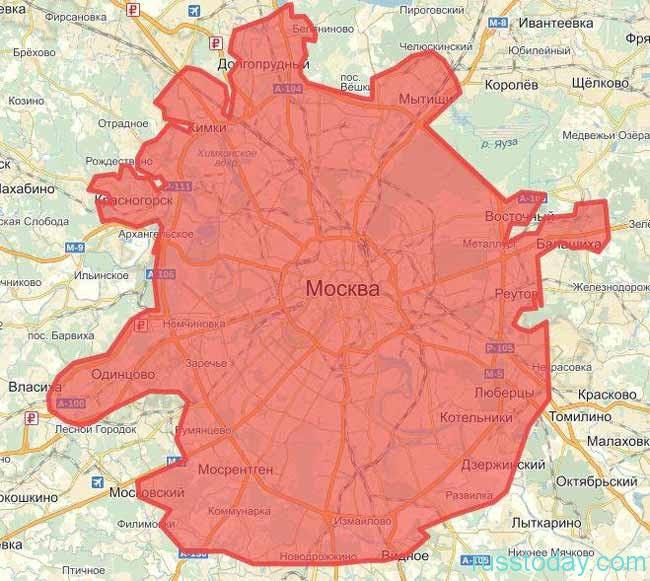 расширение Москвы