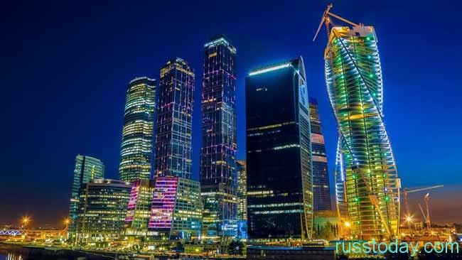 небоскребы Москвы