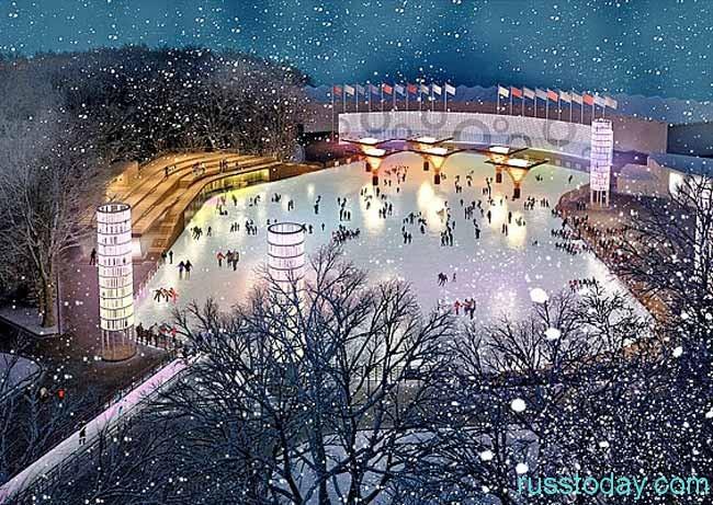 Катки в Москве 2017-2018 - открытие и цены