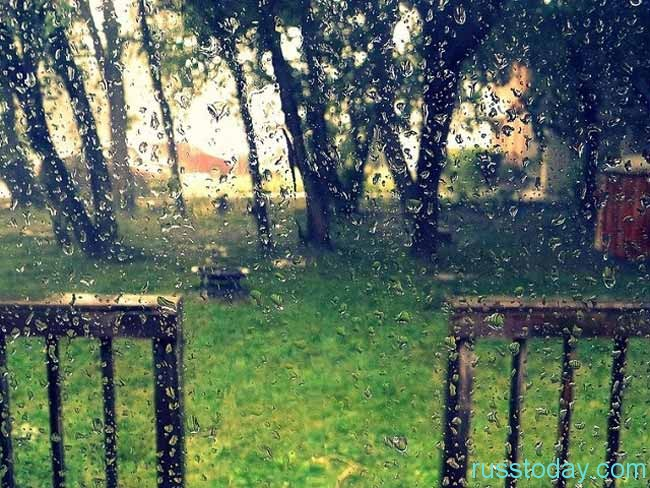 дождь летом на Урале