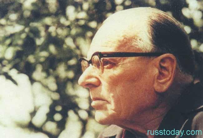 Писатель К. Паустовский