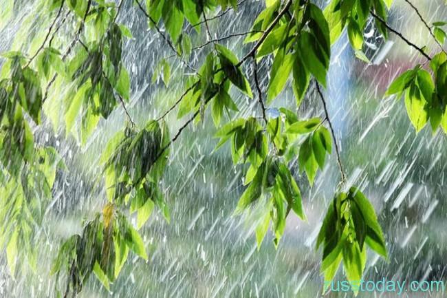 дождь в Уфе