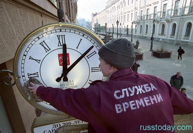 Россия продолжит жить по зимнему времени