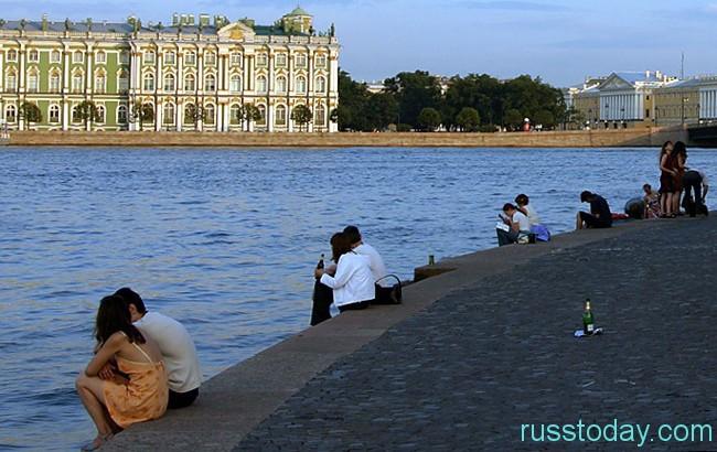 сезон в Санкт-Петербурге
