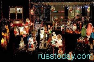 Рождество – семейное торжество, любимое в Америке и Европе