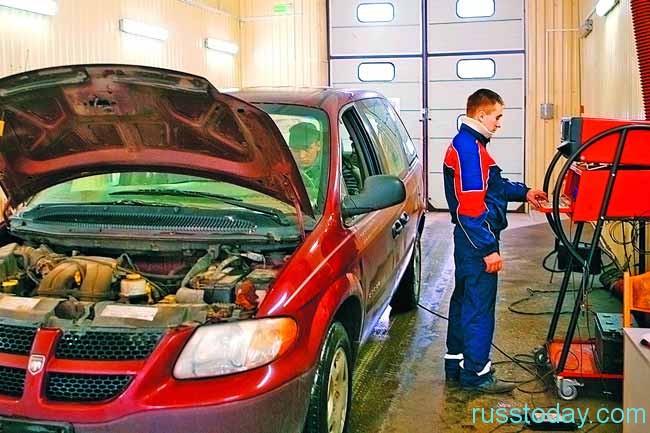 Государственный технический осмотр автотранспортных средств