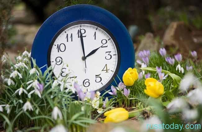 красивые часики в цветах