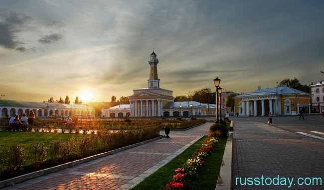 Кострома – это российский город