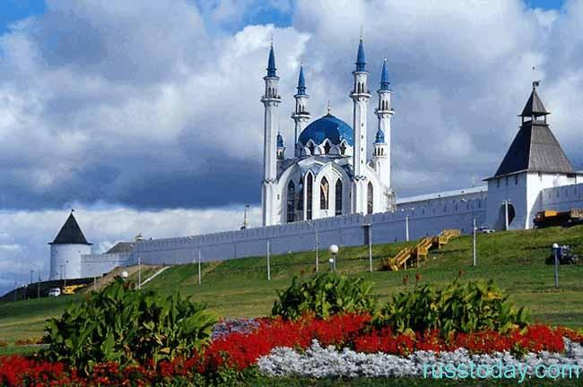 Татарстан располагается в России