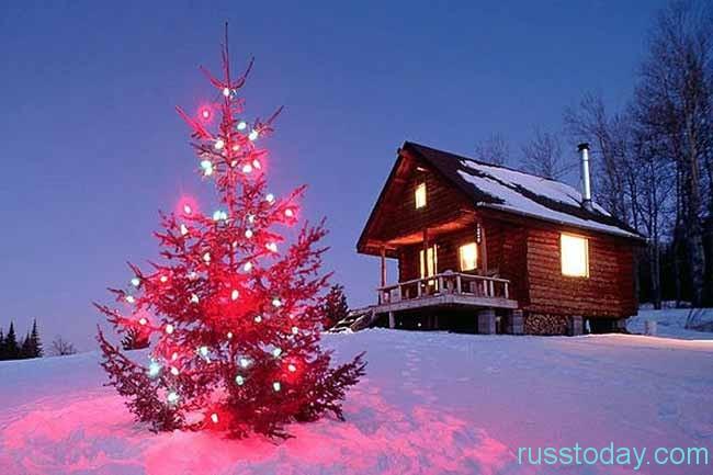 как снять дом в Подмосковье на Новый год