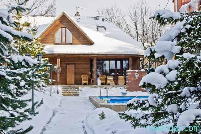 Аренда частного дома в Подмосковье на новогодние праздники