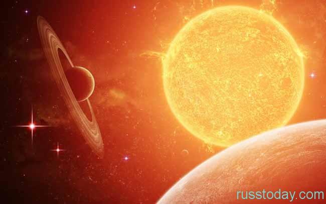 Взаимодействие Солнца и Сатурна