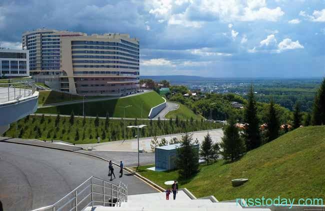 Уфа — один из старейших и крупнейших городов России