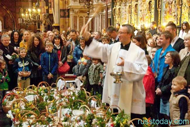 Пасха у католиков