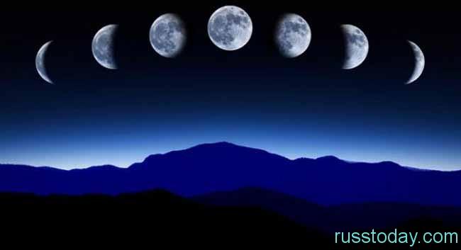 растущая луна в феврале