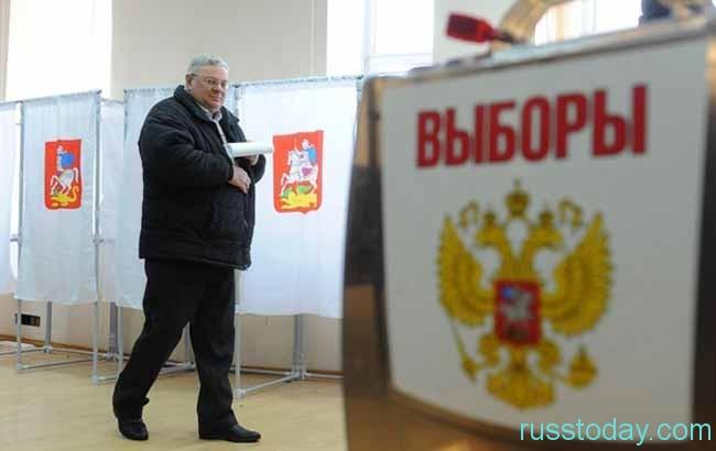 скоро в России будут проходить очередные выборы президента