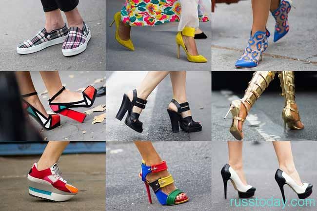 Модные тенденции с подошвой