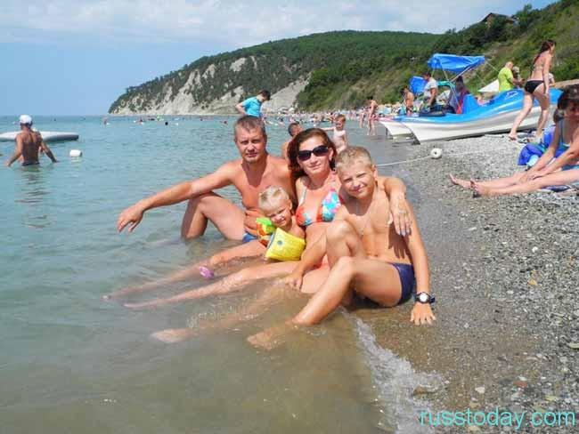 отдых на море летом в России